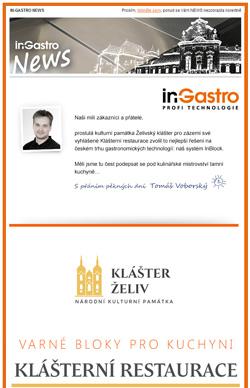 Náš systém in-Block – varné bloky pro Klášterní restauraci Želivského kláštera