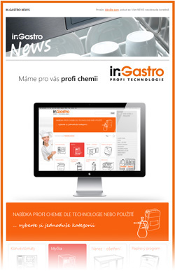 in-Gastro NEWS - Novinky v nabídce chemie