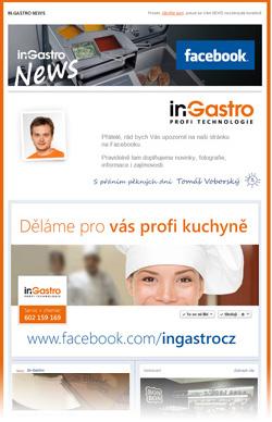 in-Gastro NEWS - Pozvánka na náš Facebook