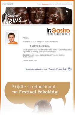 in-Gastro NEWS - Pozvánka na Festival čokolády