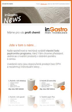 in-Gastro NEWS - Nabídka našeho papírového programu