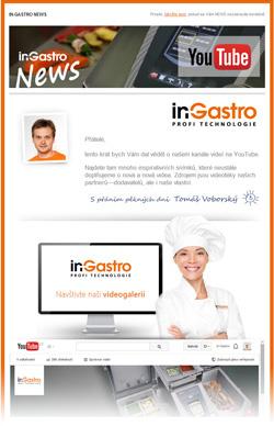 in-Gastro NEWS - Pozvánka na náš kanál You Tube
