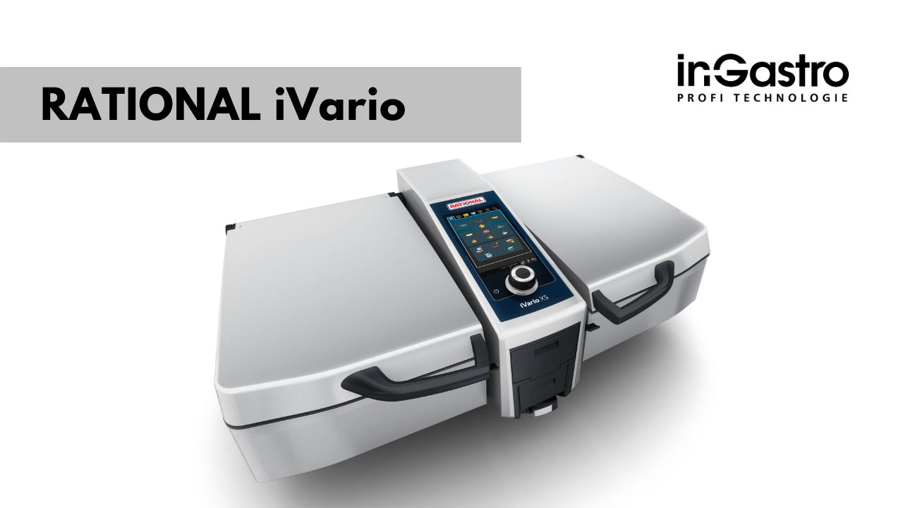 Multifunkční pánev RATIONAL iVario Pro