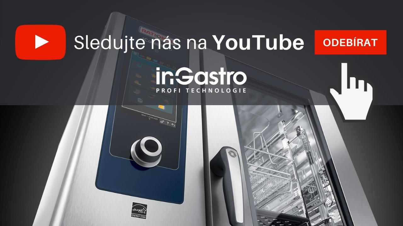 Sledujte náš YOUTUBE kanál In-Gastro